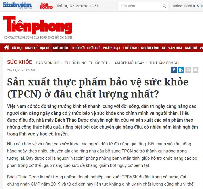Tiền Phong: