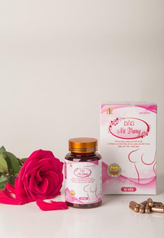 Thực phẩm bảo vệ sức khỏe Đào Nữ Vương - Bí quyết giúp chị em phụ nữ thêm tự tin