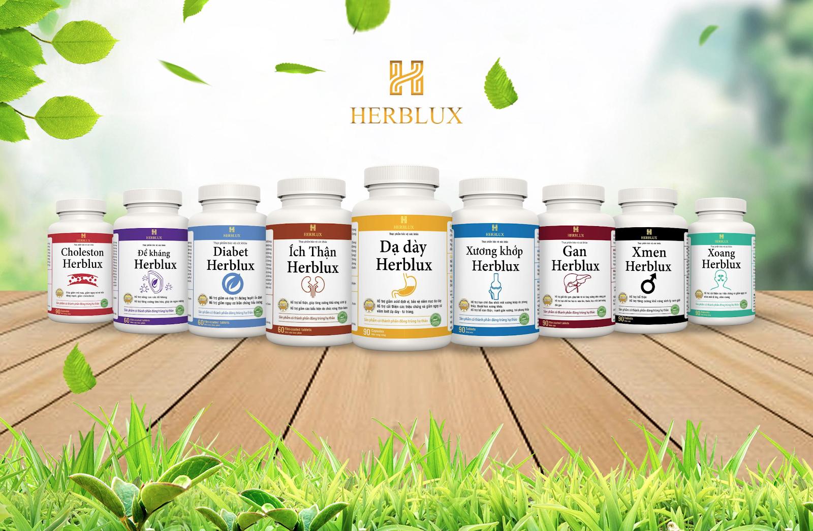 Tiền Phong: Thương hiệu TPCN Herblux - Hội tụ tinh hoa đất trời