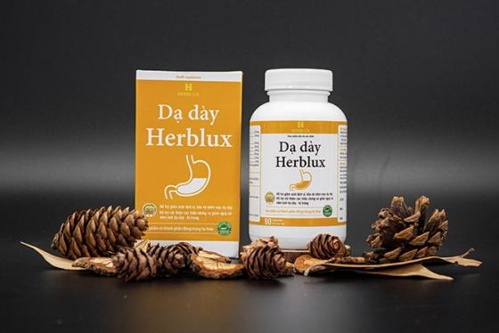 24h: TPBVSK Dạ dày Herblux - giải pháp hỗ trợ điều trị dạ dày từ thảo dược thiên nhiên