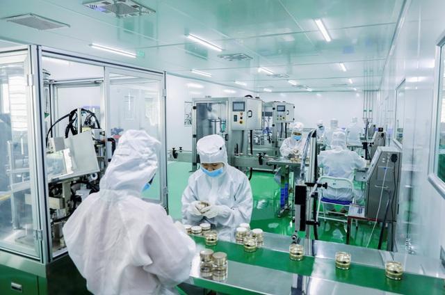 Dây chuyền sản xuất mỹ phẩm tự động hoá đạt chuẩn GMP