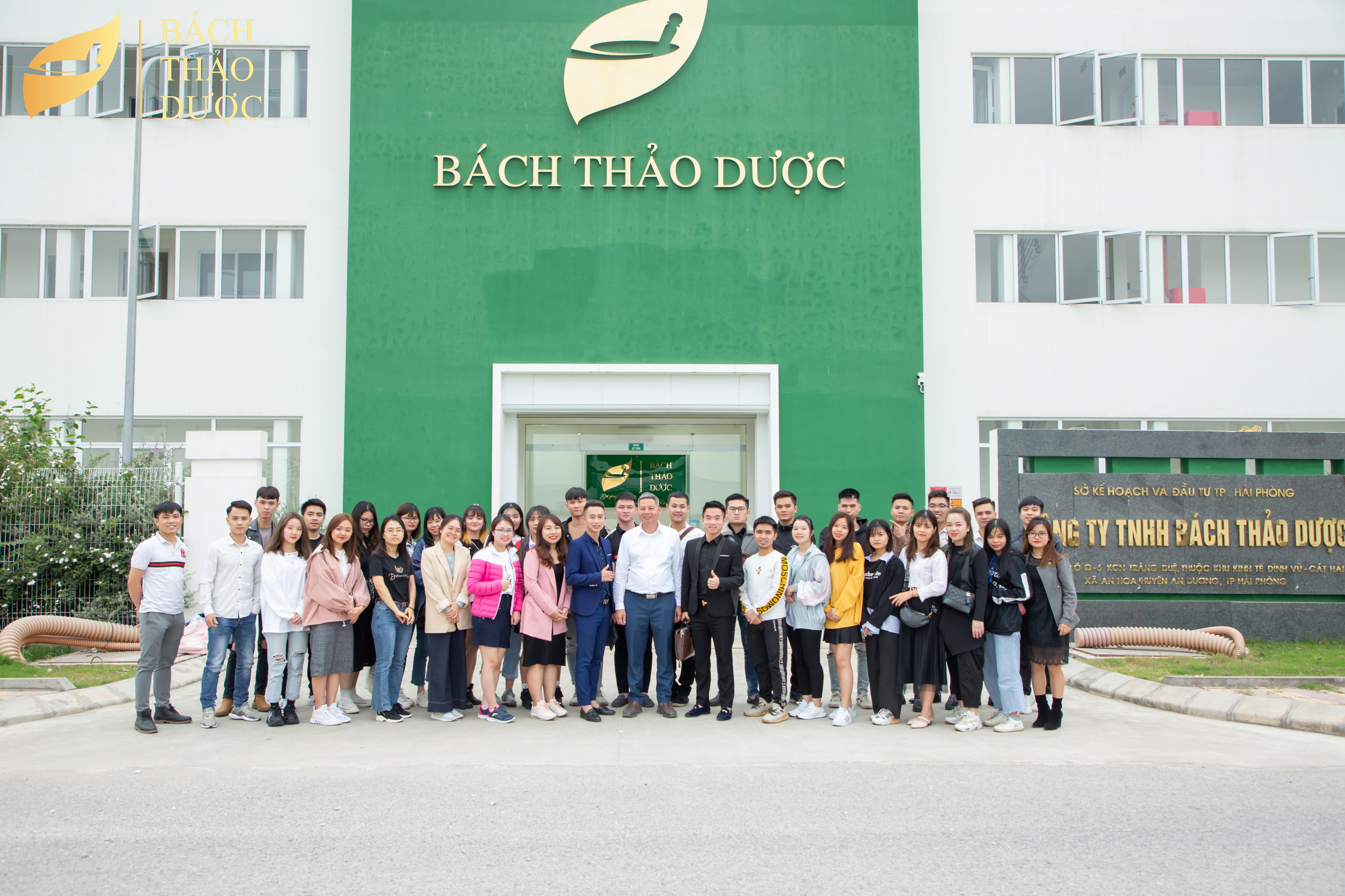 Công ty TNHH WINFA tham quan Nhà máy sản xuất TPCN BÁCH THẢO DƯỢC
