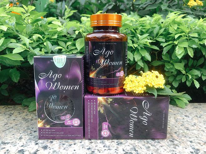 24h.com.vn: Ago Women bổ huyết điều kinh tốt cho sinh lý phụ nữ