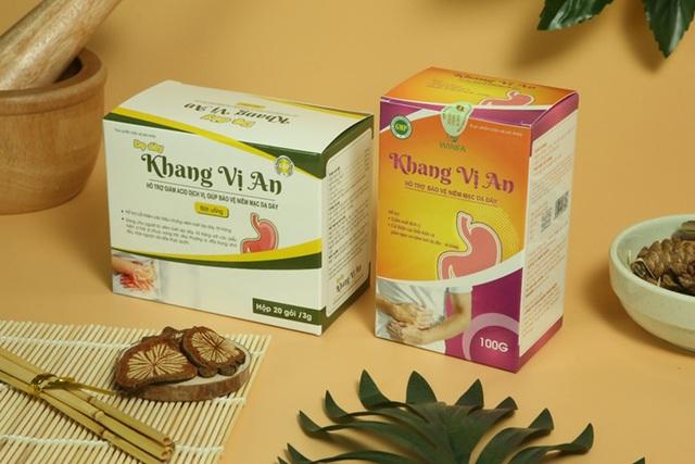 Dân trí - Khang Vị An - Hỗ trợ giảm nguy cơ biến chứng bệnh đau dạ dày