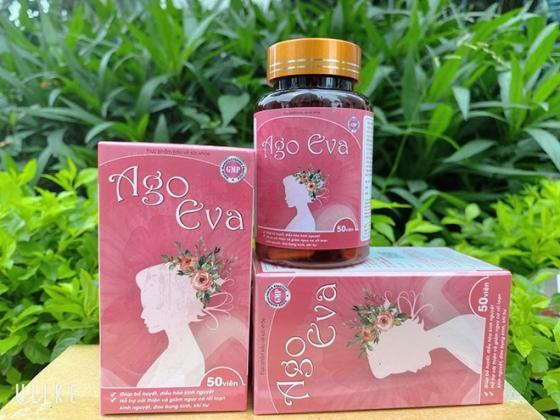 Ago Eva hỗ trợ tích cực chứng rối loạn kinh nguyệt, đau bụng kinh, khí hư